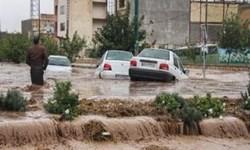احتمال سیلابی شدن مسیلها و رودخانهها در ۱۲ استان