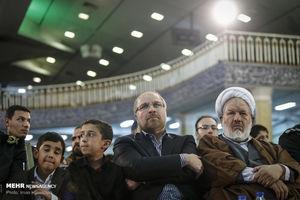 عکس/ حضور قالیباف در بزرگداشت شهید همدانی