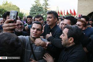 عکس/ مراسم بزرگداشت بهرام شفیع