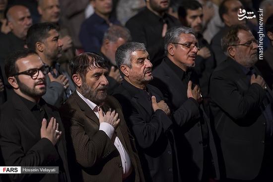 عکس/ مراسم سومین سالگرد شهید حاج حسین همدانی