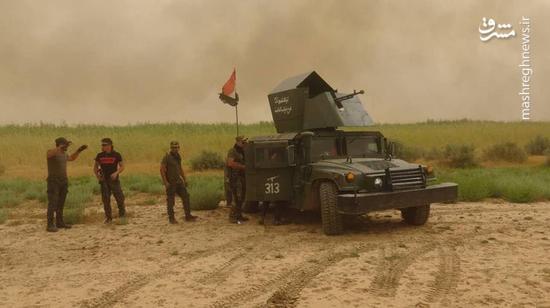 عملیات بزرگ در غرب استان الانبار در واکنش به کمینهای داعش/ حومه شمالی شهر تلعفر از ۴ محور زیر آتش سنگین نیروهای عراقی + نقشه میدانی