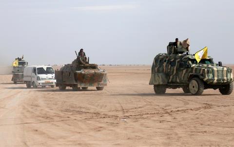 آخرین تحولات میدانی نوار ساحلی شرق رود فرات/ شبه نظامیان کُرد به ۲۲ کیلومتری شهرک «هجین» رسیدند + نقشه میدانی