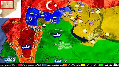 خشم دولت ترکیه از تعلل آمریکاییها در روند توافق خروج شبه نظامیان کُرد از منطقه منبج/ آیا آنکار دومین شکست را در شمال سوریه تجربه میکند؟ + نقشه میدانی و تصاویر