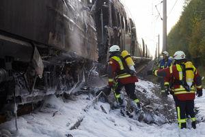 آتشسوزی گسترده در واشنگتن در پی انحراف قطار