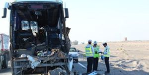 جزئیات واژگونی اتوبوس در شمال فارس با ۵ کشته