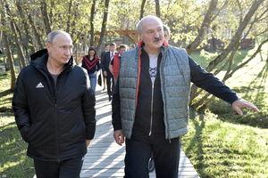 عکس/ سفر پوتین به بلاروس