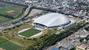 فیلم/ شاهکار ژاپنیها در ساخت یک استادیوم!