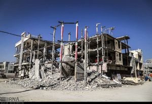 عکس/ عدم بازسازی منازل زلزله زده سرپل ذهاب