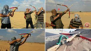 عکس/ جدیدترین شیوه مبارزاتی جوانان فلسطینی