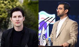 فیلم/ ماجرای دیدار آذری جهرمی با مدیر تلگرام!