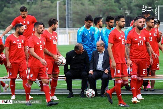 عکس/ تمرین امروز تیم ملی فوتبال
