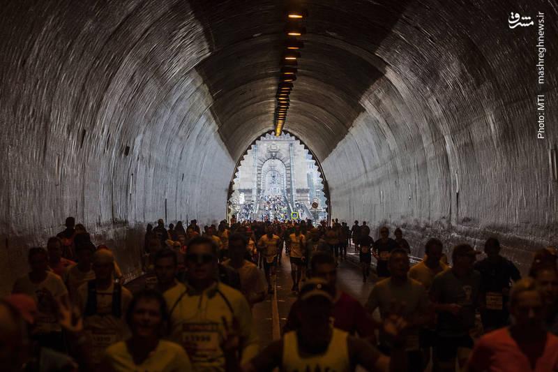سیوسومین دور از مسابقات ماراتن در بوداپست