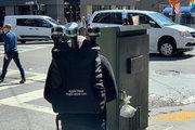 جمعآوری اطلاعات پیادهروها با کوله پشتی! +عکس