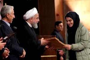 عکس/مراسم آغاز سال تحصیلی دانشگاهها با حضور روحانی