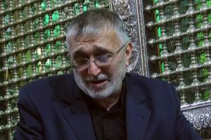 فیلم/ روضه خوانی حاج منصور ارضی در کنار ضریح حضرت رقیه(س)