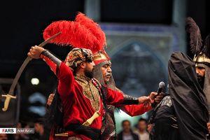 فیلم/ تعزیهخوانی در حسینیهای با قدمت 500 سال