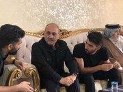 عکس/ حضور گرشاسبی در منزل بشار رسن