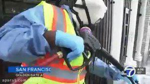 فیلم/ سانفرانسیسکو گروه گشت مدفوع تشکیل داد!