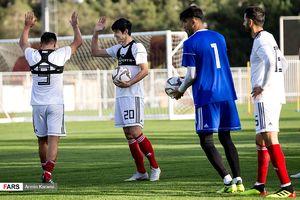 عکس/ تمرین تیم ملی پیش از بازی با بولیوی
