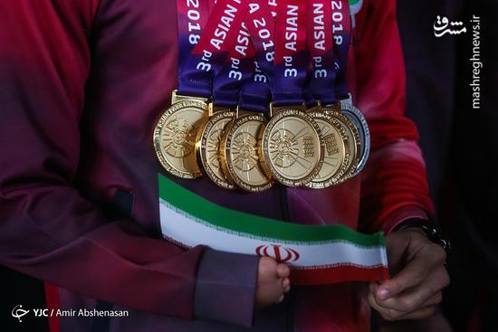 عکس/ بازگشت کاروان ایران از بازیهای پاراآسیایی جاکارتا