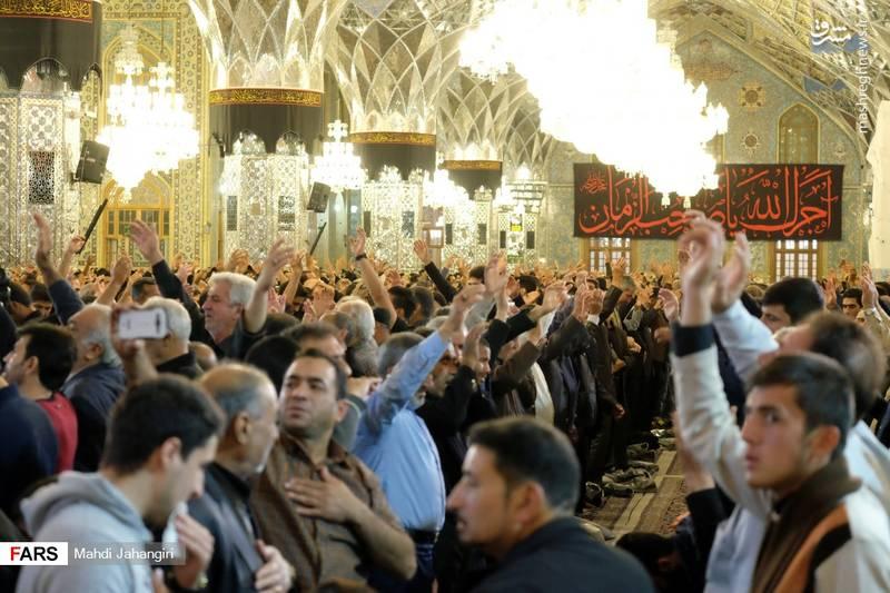 2364456 - عزاداری شهادت حضرت رقیه(س) در حرم رضوی