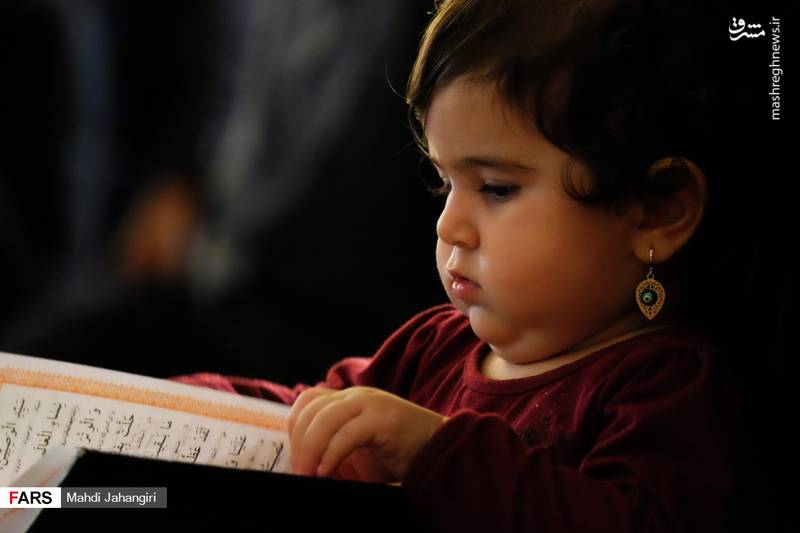 2364457 - عزاداری شهادت حضرت رقیه(س) در حرم رضوی