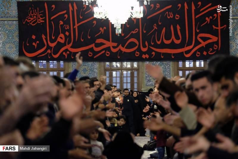 2364461 - عزاداری شهادت حضرت رقیه(س) در حرم رضوی