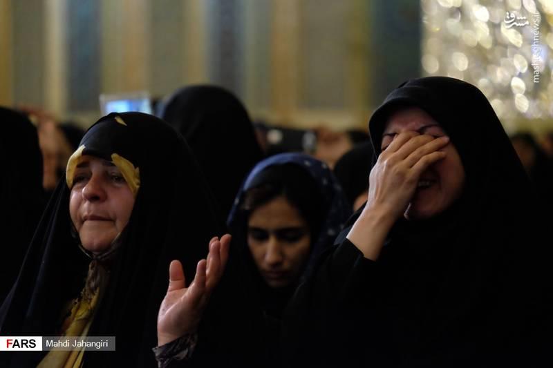 2364462 - عزاداری شهادت حضرت رقیه(س) در حرم رضوی