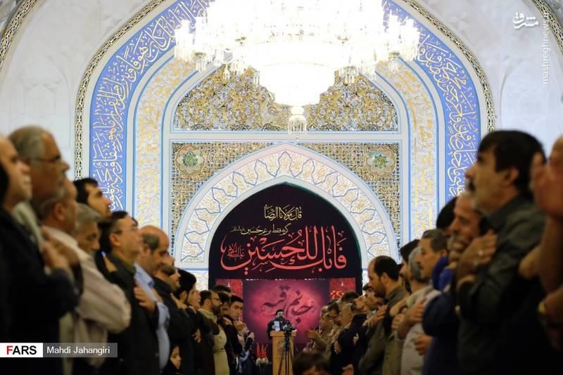 2364463 - عزاداری شهادت حضرت رقیه(س) در حرم رضوی