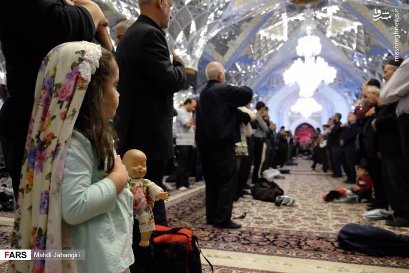 2364464 - عزاداری شهادت حضرت رقیه(س) در حرم رضوی