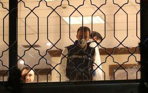 عکس/ تفتیش شبانه سفارت عربستان در ترکیه