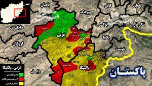ادامه شکستهای ارتش افغانستان در سایه بیتوجهی دولت/ شهرستان «خوشامند» در استان پکتیکا هم به کنترل نیروهای طالبان درآمد + نقشه میدانی