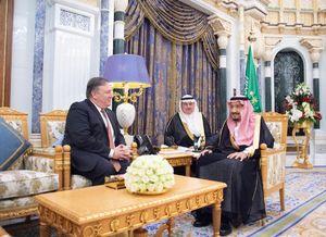 عکس/ سفر وزیر خارجه آمریکا به عربستان سعودی