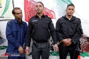 دستگیری دزدانی با لباس پلیس