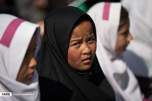 افتتاح مدرسه اتباع افغانستانی