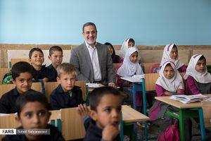 عکس/ افتتاح مدرسه اتباع افغانستانی