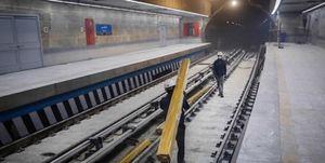 وورد آب به داخل متروی تجریش