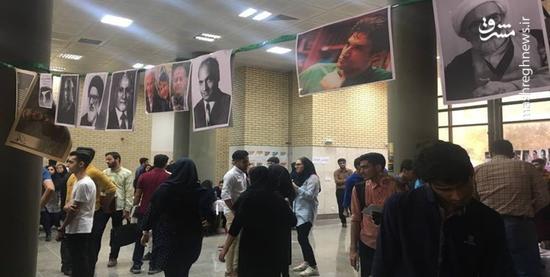 سخنرانی محکوم فتنه 88 در دانشگاه خلیج فارس