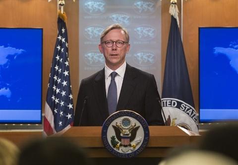 هوک: در تحریم ایران جدی هستیم