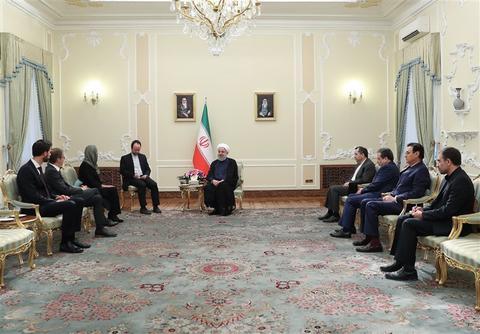 روحانی: عدهای مخالف روابط عمیق ایران و اروپا هستند