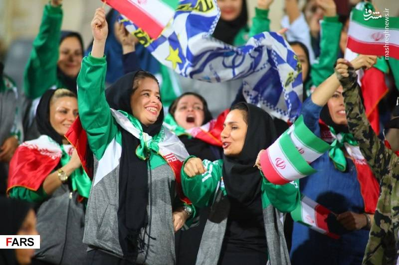 برتری ایران مقابل بولیوی در حضور بانوان