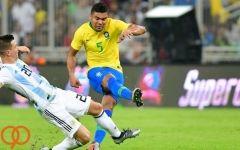 فیلم/ خلاصه دیدار برزیل ۱ - ۰ آرژانتین