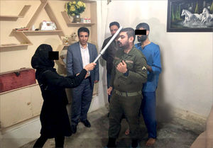 بازسازی صحنه قتل همسر توسط زن خیانتکار +عکس