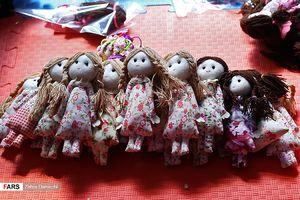لحظهشماری عروسکها برای خادم کوچولوهای اربعین