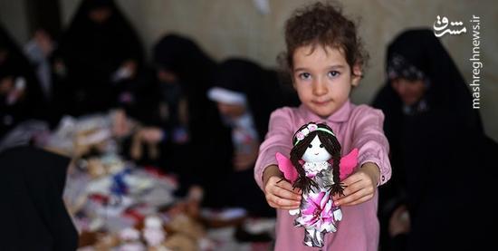 فرشتههای ایرانی برای فرشتههای عراقی +عکس