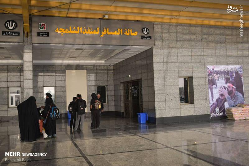 2366278 - صف عبور زائران اربعین از مرز شلمچه