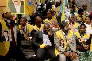 تجمع عظیم هفت هشت نفری منافقین! +عکس