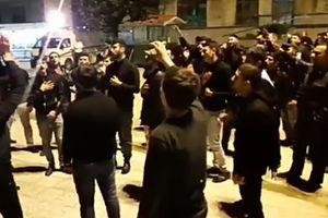 فیلم/ عزاداری زائران اربعین جمهوری آذربایجان