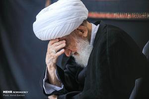 عکس/عزاداری شهادت امام حسن(ع)در حضور مراجع تقلید