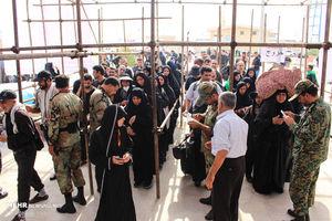 عکس/ حضور پرشور زائران در مرز چذابه